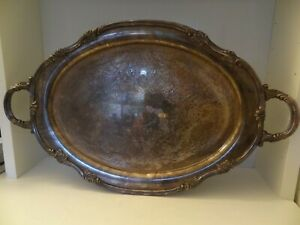 Vintage Silver Plated Reed Barton Serving Tray