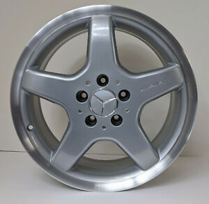 Mercedes W208 Clk R170 Slk Set Of 4 17 Amg Wheel Rim 17x7 5 17x8 5 Oem 65270 Mb