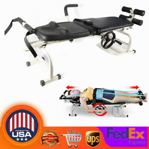 New Therapy Massage Table Cervical Spine Lumbar Massage Bed For Lumbar Traction