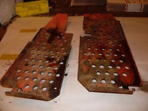1962 Allis Chalmers D19 Gas Farm Tractor Running Boards