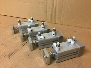 Lot Of 4 Festo Adn 32 40 a p a Dual Action Pneumatic Cylinder 1 1 2 Stroke