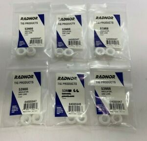 Lot Of 12 Radnor Tig Products Insulator Gas Lens 53n66