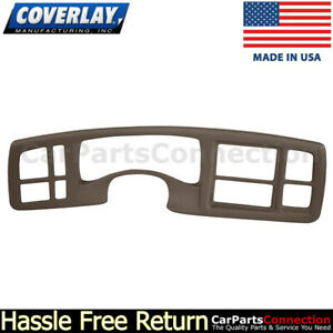 Coverlay Instrument Cluster Panel Cover Dk Brown 18 216ic Dbr 03 06 For Escalade