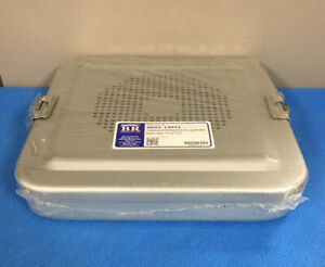 Br Surgical br82 13071 Container W perforated Lid Flat 11 X 11 X 2 1 Ea