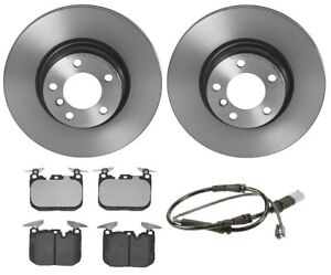 Brembo Front Brake Kit Low Met Pads Disc Rotors For Bmw F30 F33 F34 With S2nha