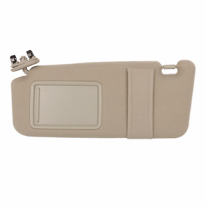 Sun Visor Beige Replacement For 2007 2011 Toyota Camry Left Side Usa With Sunroof Fits Toyota Camry