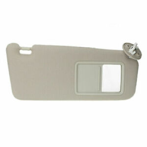 Sun Visor Beige Replacement For 2007 11 Toyota Camry Right Side Usa With Sunroof Fits Toyota Camry
