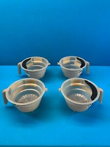 Qty 4 Lot Of Bunn Replacement Dual Dilution Tea Funnels For Itcb Tb6 Brewers