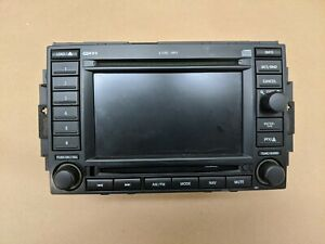 05 09 300 Grand Cherokee Ram Radio Dvd Gps Navigation Display Rec P56038646ak