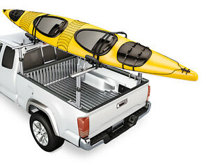 For Toyota Tacoma Mid Size Aluminum Pickup Truck Bed Ladder Racks Lumber Utility