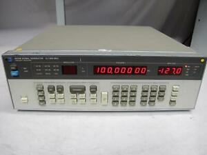 Hp Agilent 8656b Synthesized Signal Generator 0 1 990 Mhz Opt 002