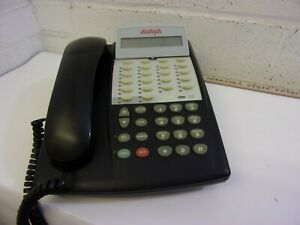 Avaya New Style 18 Button Partner Phone Black Lucent At t Acs 18d