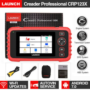 Launch Crp123 X Abs Srs Reset Code Reader Eobd Obd2 Diagnostic Auto Scanner Tool