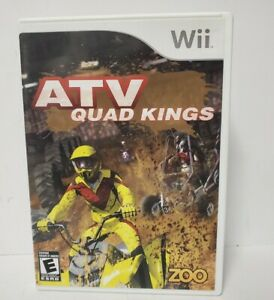 ATV Quad Kings WII Racing / Driving (Video Game)