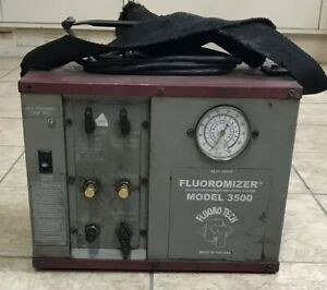 Fluoromizer 3500 Oilless Refrigerant Recovery Machine Unit System