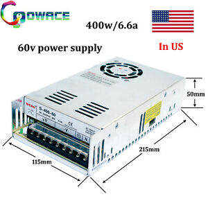 400w 60v Power Supply 60v 6 6a Cnc Switch Power Supply 1piece