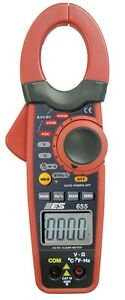 Electronic Specialties 1000 Amp Ac dc High Current Clamp Meter Multimeter 655