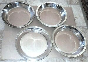 Set Of Excellent Restored Factory Finish Oem Trim Rings 1967 Corvette