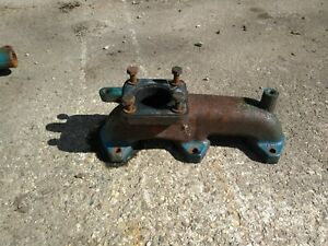 Ford 1900 Tractor Exhaust Manifold Sba 135616051