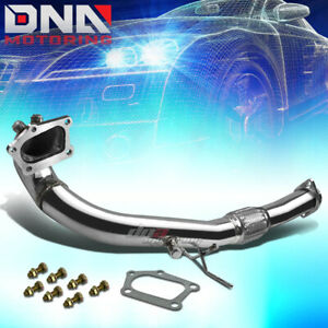 For 07 13 Mazdaspeed3 Disi Mzr 2 3 Turbo 5 Bolt Stainless Flex Exhaust Down Pipe