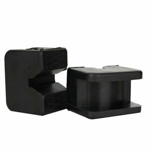 2 Pcs Jack Pad Adapter For Jack Pad Universal Slotted Frame Rubber Stand 2 3 Ton