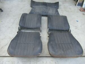 Porsche 356 Fat Seats Date Stamped 6 56 And 3 57 St
