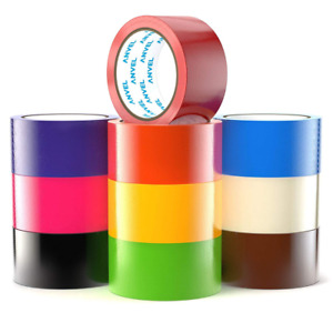 15 yards Colored Duct Tape Variety Multi Pack 10 Fun Colors Duck Tape