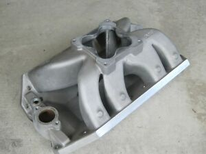Dart Big Chief Intake Manifold Oval Port Tall Deck Big Block Chevy Dominator