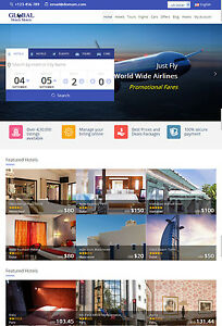 Travel Holiday Hotel Flight Car Complete Online Travel Booking Website