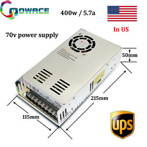 70v 5 7a Power Supply Cnc 400w 70v Switch Power Supply 1piece