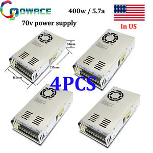 400w 70v Power Supply Cnc 70v 5 7a Switch Power Supply Pack Of 4
