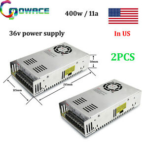 400w 36v Power Supply 36v 11a Cnc Switch Power Supply Pack Of 2