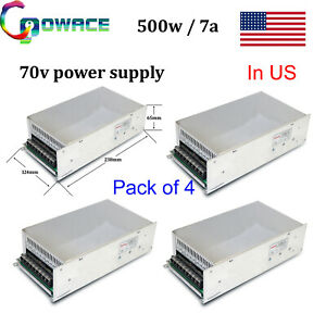 4pcs 500w 70v Switch Power Supply 7a For Cnc Router