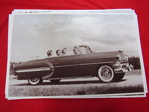 1954 Chevrolet Bel Air Convertible 11 X 17 Photo Picture