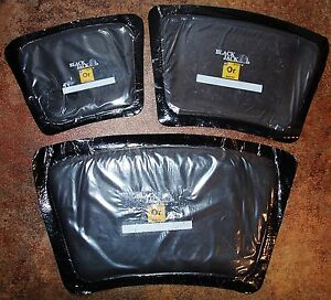 3 Blackjack 1 med 1 lrg 1 xlrg Off road Ag Sidewall Tire Repair Boot Patches