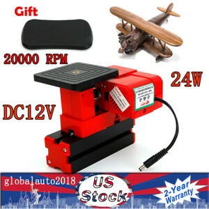 24w Mini Metal Cut Sawing Machine Jig Wood model Work Drill Mill Diy Tool Set