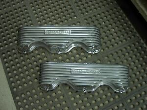 Nos Offy Offenhauser Chevrolet 348 409 Aluminum Hot Rod Valve Covers
