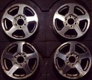 16 Chevrolet Trailblazer 2002 2006 Factory Oem Rim Set Of 4 Wheel 5140 5141