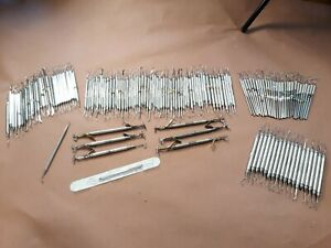 Huge Lot Of 145 Of Dental Instruments Pieces Hu Friedy