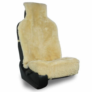 Sheepskin Easy Fit Seat Cover 1 Piece