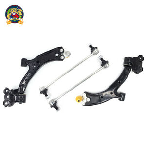 4 Piece Suspension Kit Lower Control Arms W Ball Joint Assembly Sway Bar Links