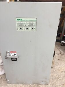 Asco Series 300 104a Single Phase Transfer Switch Used