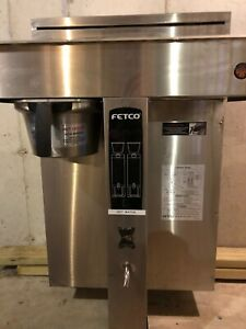 Fetco Cbs 2052e Extractor Twin Dual Automatic Coffee Brewer Maker 240v