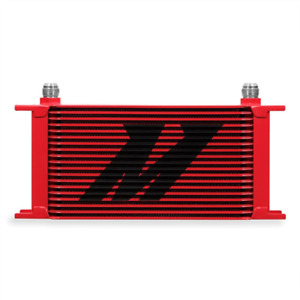 Mishimoto Universal 19 Row Oil Cooler Red Mmoc 19rd
