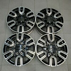 2020 Gmc Sierra Denali 2500 3500 20 Factory Oem Wheels Set 2011 2020 23377037