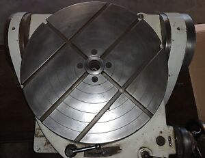 Walter 25 Tilting Rotary Table Model Rts 630g