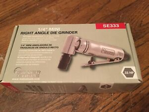 New Matco Tools Silver Eagle 1 4 Mini Right Angle Die Grinder Se333
