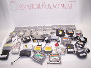 Large Lot Of Xenon Hid Ballasts And Afs Modules Audi Acura Bmw Mercedes Infiniti
