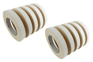 10 Rolls 24 Mm X 33 M Double Stick Sided Tape Woodworking Paper Rubber Adhesive