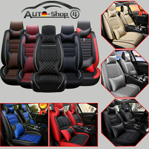 Luxury 5 seat Car Seat Cover Cushion Full Surround Front Rear Sit Productor Set